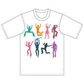Tänzer, Sänger, T-Shirt-Design