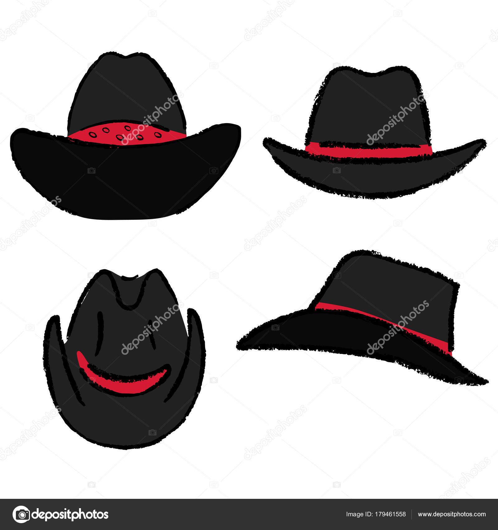 Cowboy hat template — Vetores de Stock © arlatis  179461558 6eb29bedd9e