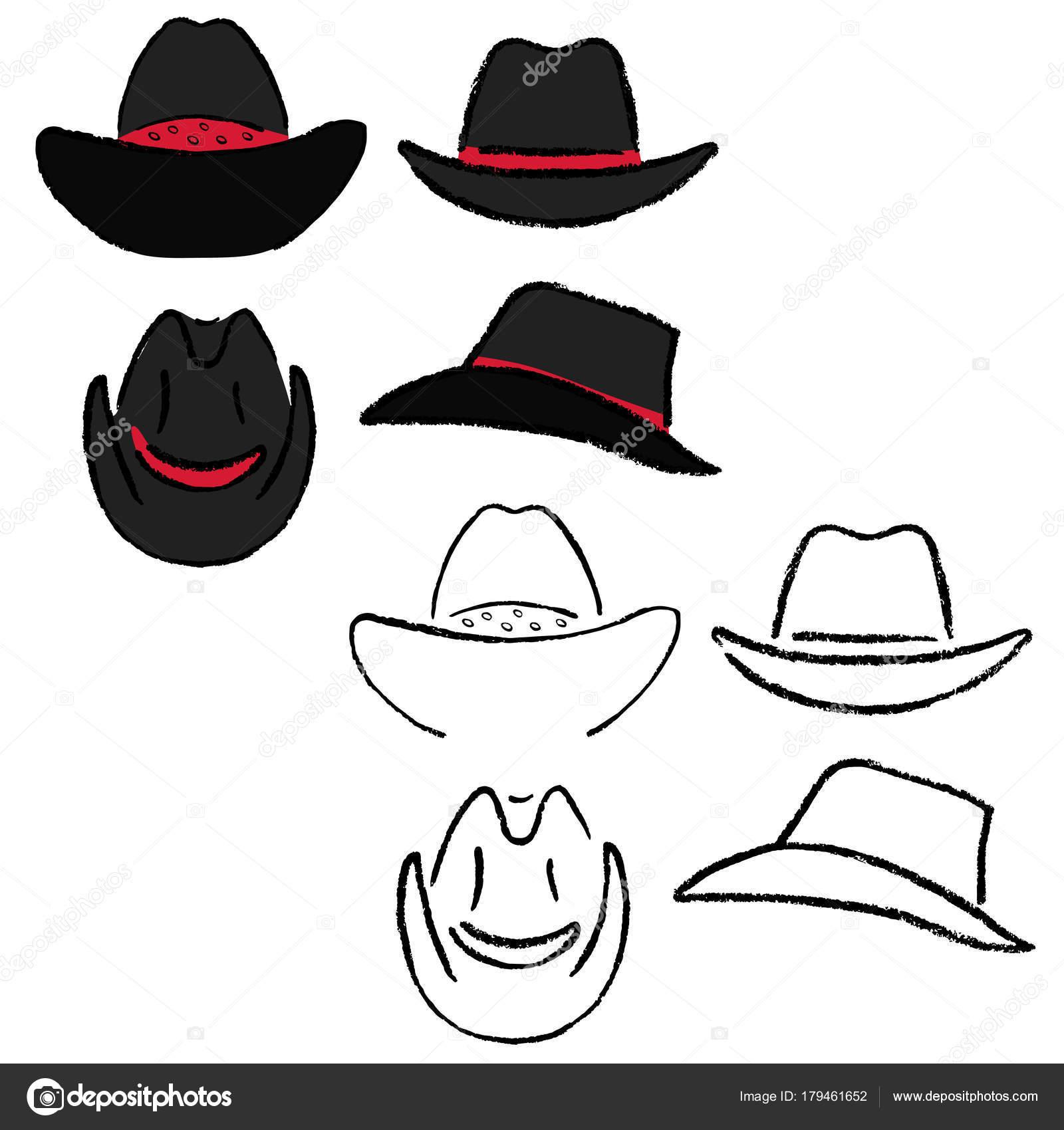 Cowboy hat template — Vetores de Stock © arlatis  179461652 c27718653e6