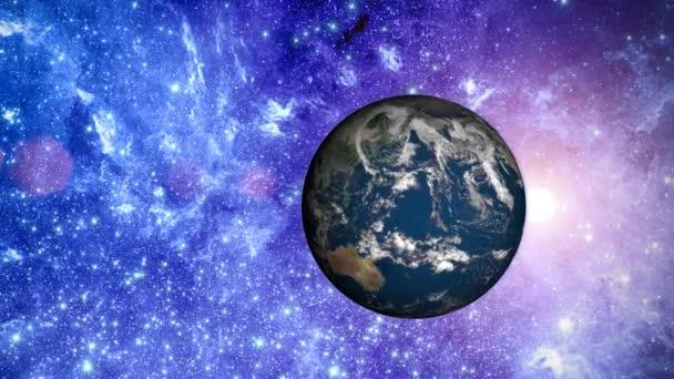 planeta Země ve vesmíru