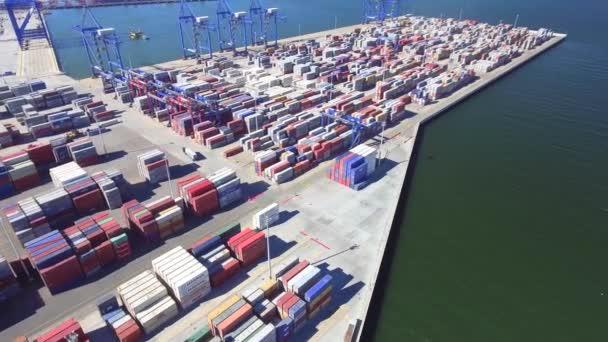 a légi felvétel a nagy kikötő