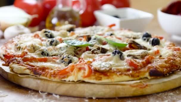 designerské chutné domácí pizza