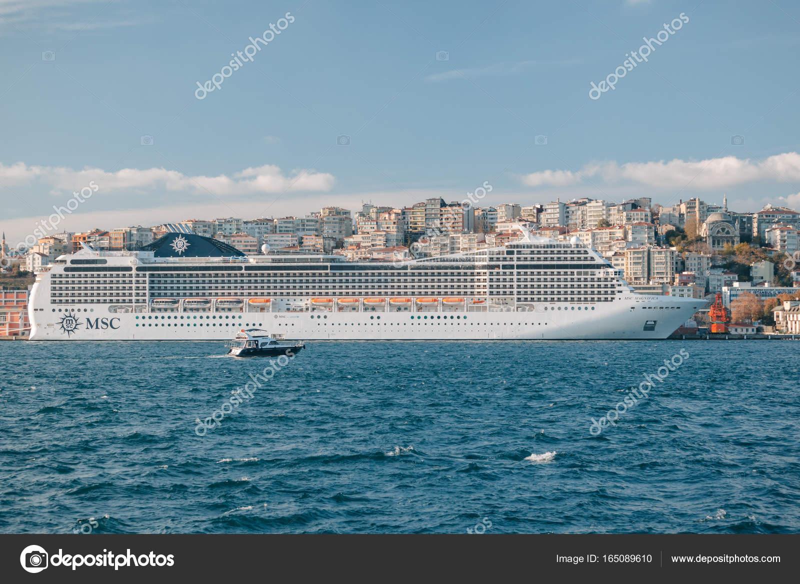 Istanbul turchia msc magnifica nave da crociera nel for Msc magnifica foto