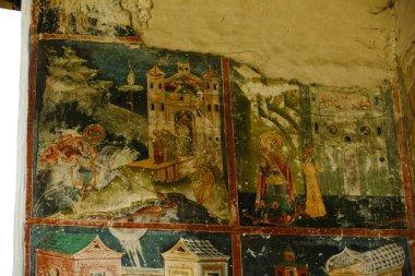 """Картина, постер, плакат, фотообои """"Церковь Арбор, одна из шести расписных церквей в северной Молдове (Румыния), внесенных в список памятников UNESCO"""", артикул 364943884"""