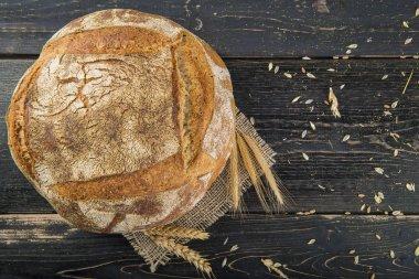 Homemade sourdouhg bread loaf