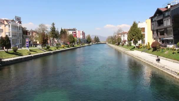 Black Drim River flowing out from Lake Ohrid
