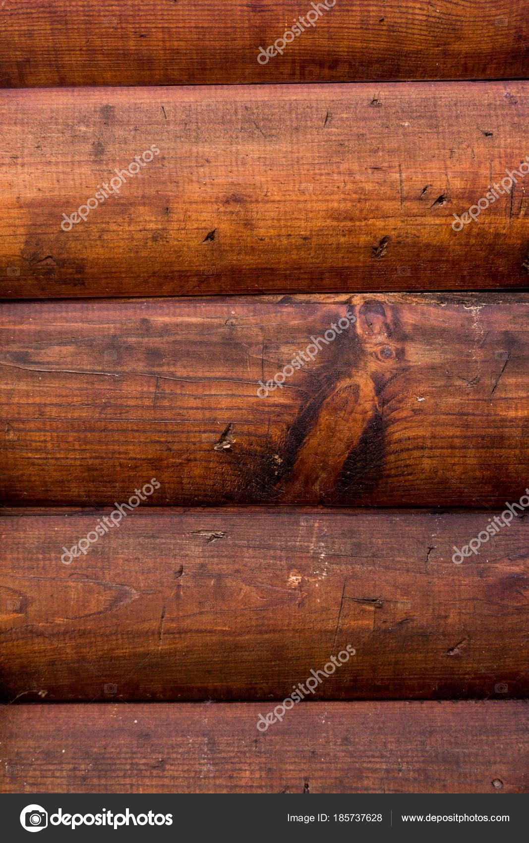 Textura De Madeira Parede De Madeira De Logs Stock Photo  -> Imagem Parede De Madeira