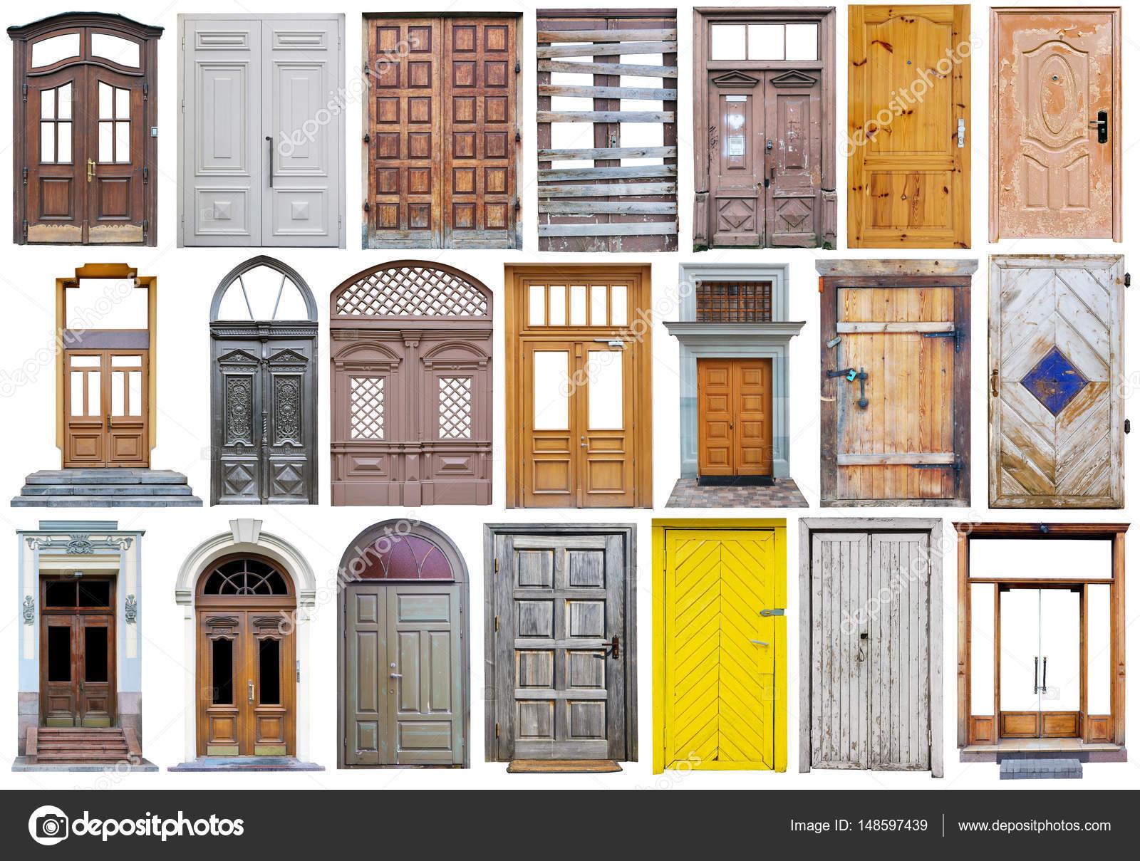 Puertas de calle madera moderna en estilo retro vintage for Puertas vintage