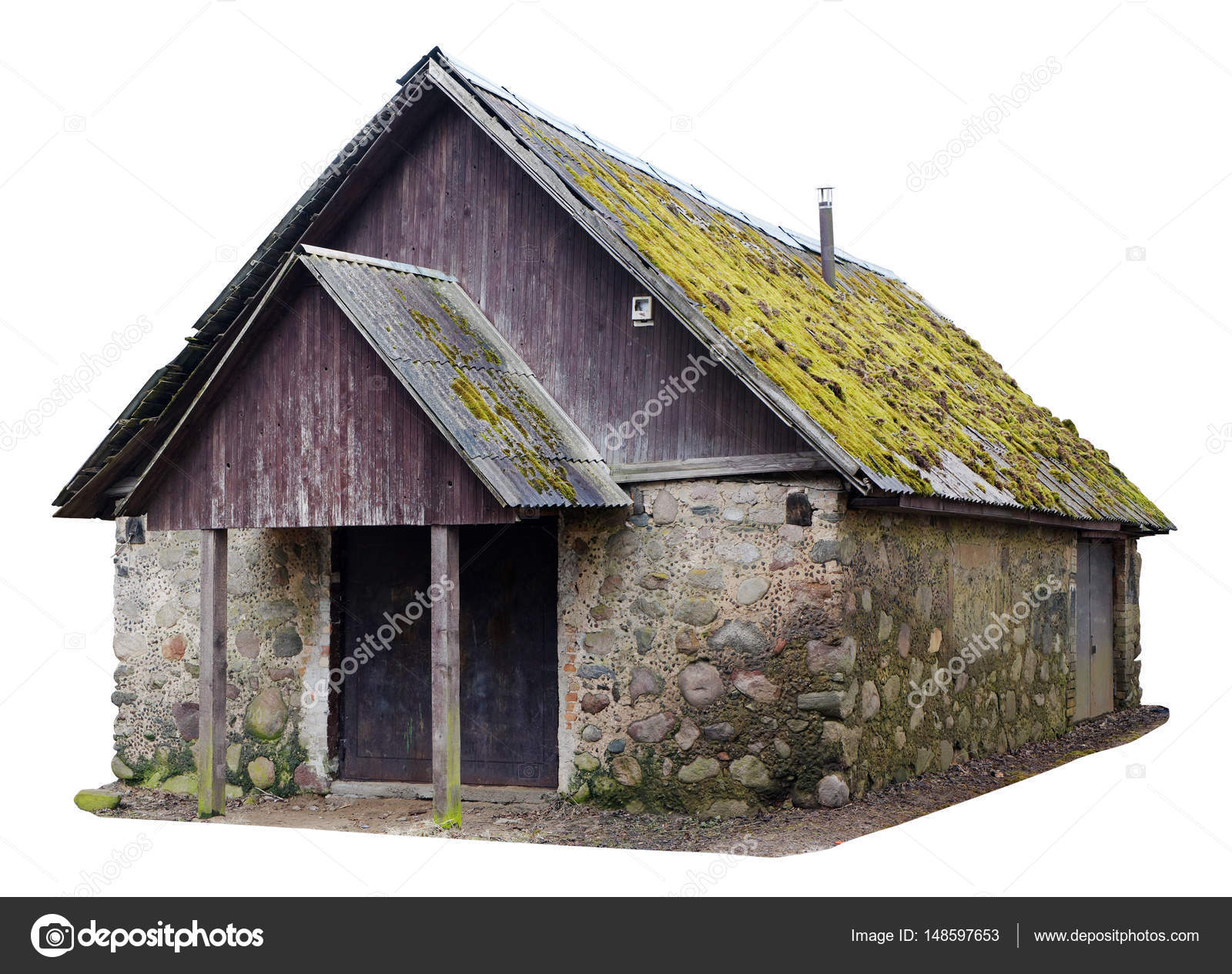 Ugly No Nsme Wooden Forest Vintage Rural Shed For Storage Of Fi U2014 Stock  Photo