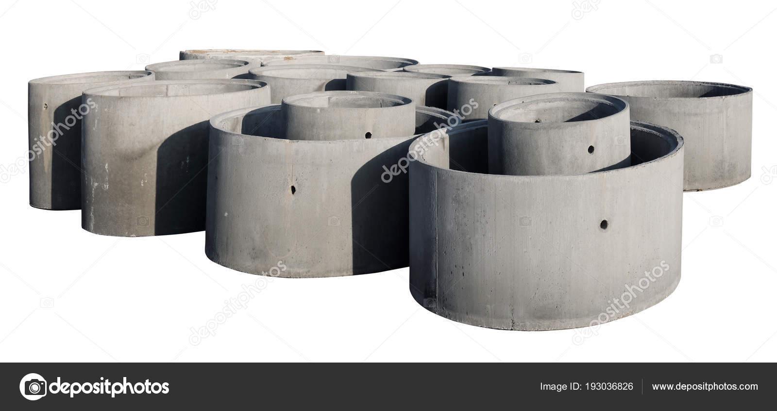 Grandi Anelli Di Cemento Armato Per Pozzi E Sistemi Di Fognatura