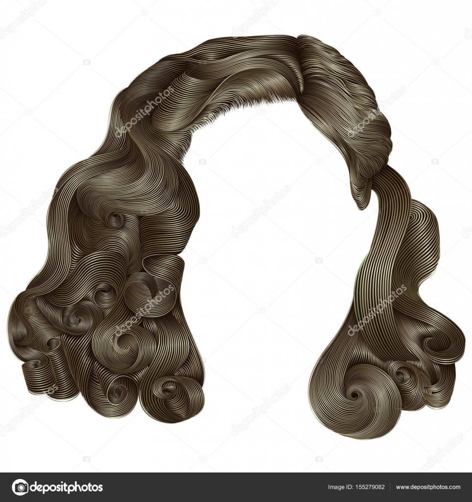 Trendige Frau Kurze Haare Blond Braun Farben Fringe Mode B