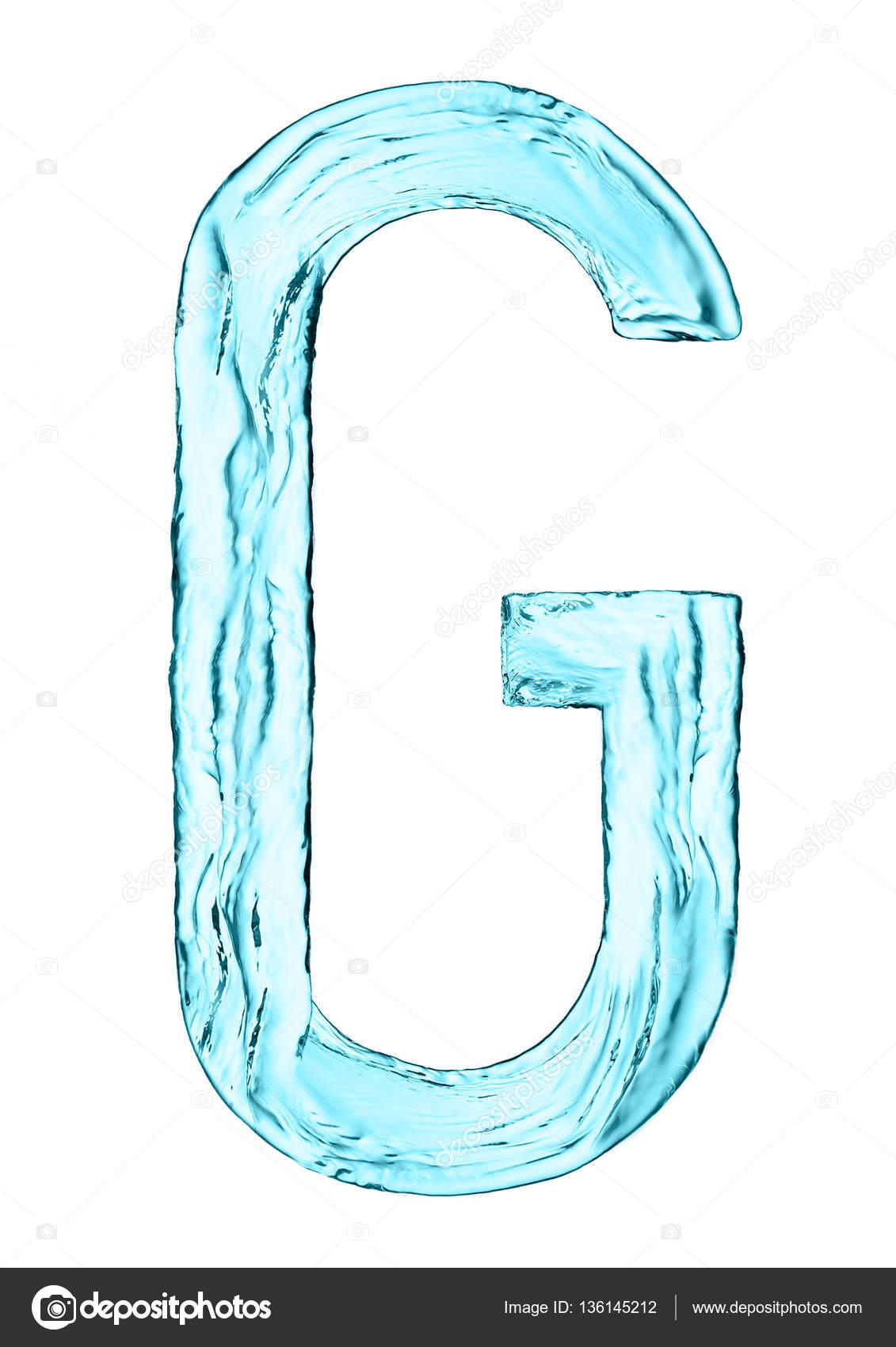 Water splash letter g with light blue color stock photo water splash letter g with light blue color stock photo altavistaventures Images
