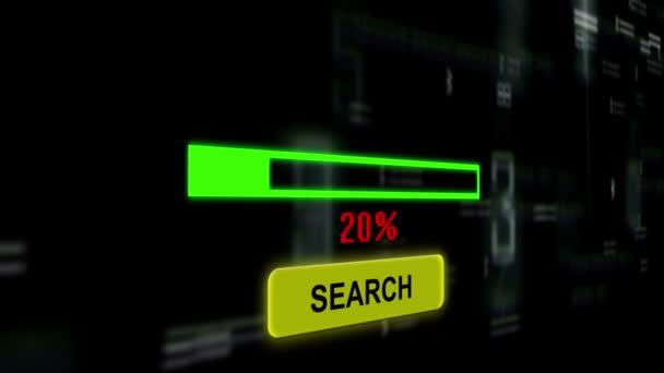 pesquisar por conversor de moeda online vídeo de stock