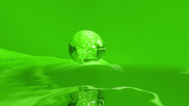 Droplet Konzept Wasseroberfläche