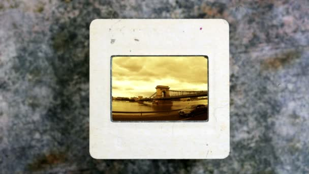 Budapest on vintage slide film