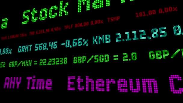 ethereum stock ticker