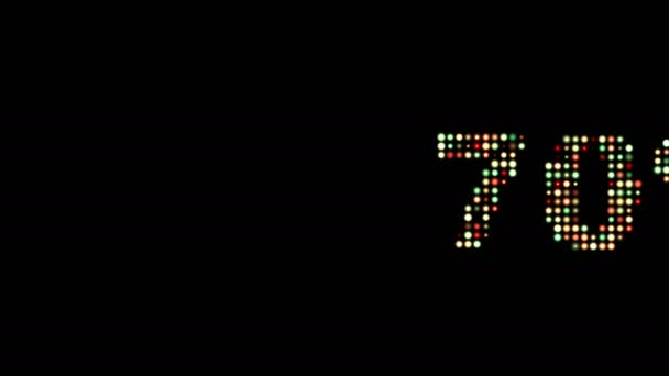 70 Prozent Rabatt auf Fronttext-Scrolling-LED-Wanddisplay