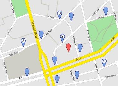 GPS Map screenshot