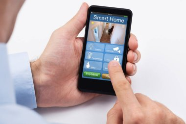 Home security on mobile phone