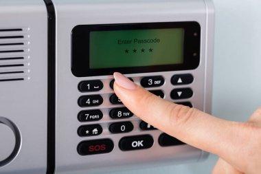 Person Entering Code
