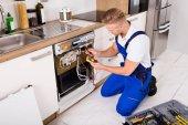 Opravář upevňovací myčka