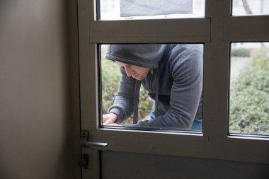 Man Opening Door