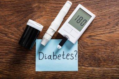 Diabetes Concept On Desk