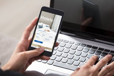 Person Booking Hotels