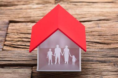 Paper Family In House Model