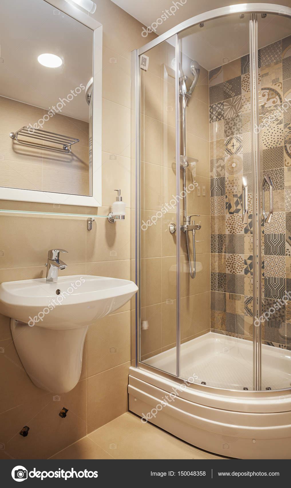 Małe łazienki Nowoczesne Zdjęcie Stockowe Krsmanovic