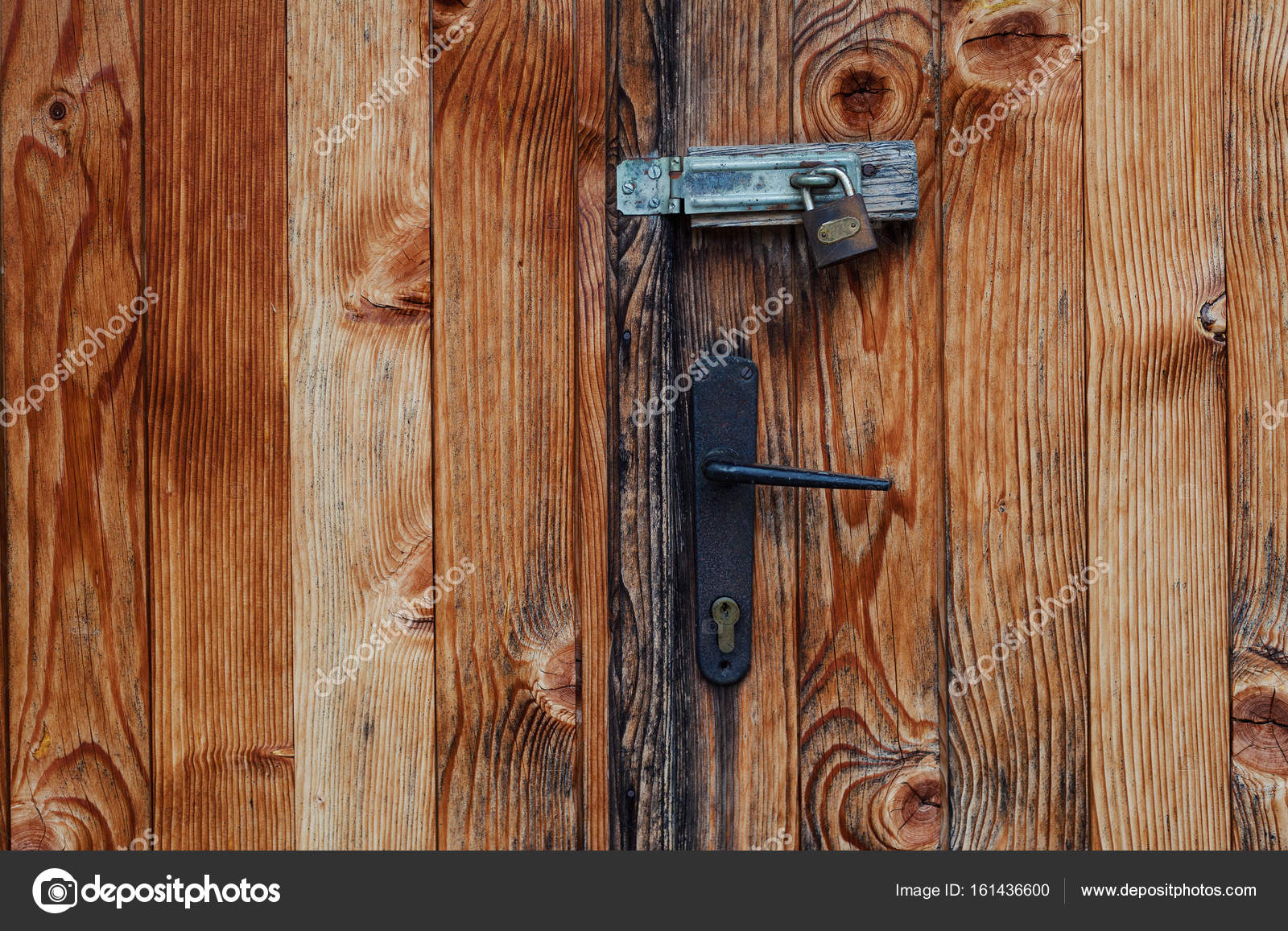 Details of an old weathered locked door abstract composition. u2014 Photo by krsmanovic & Old Weathered Locked Door u2014 Stock Photo © krsmanovic #161436600