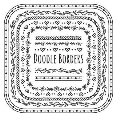 doodle decorative borders