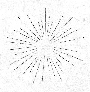 Star burst design element