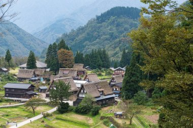Shirakawago old village in Japan