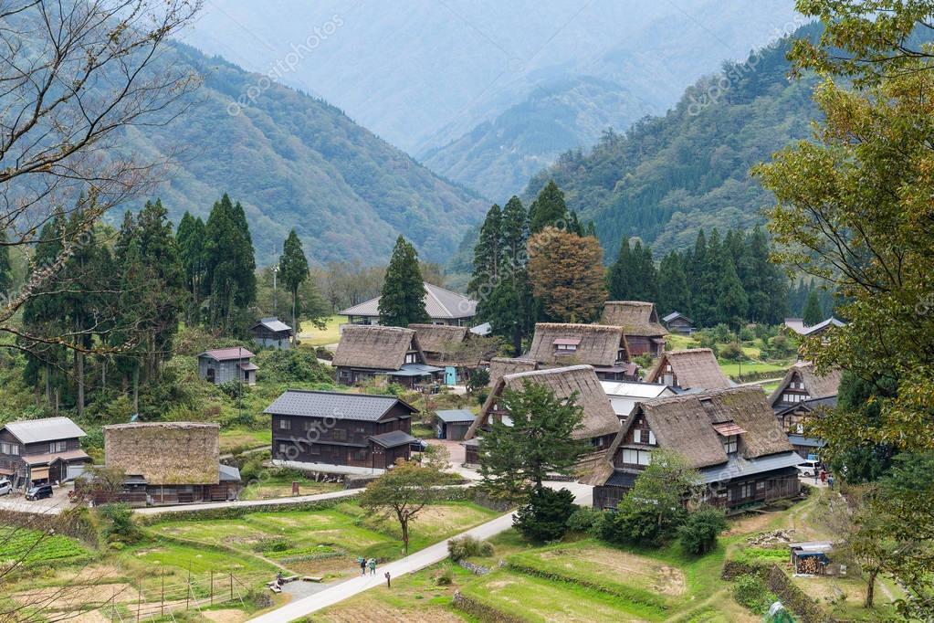 Traditional Shirakawago old village