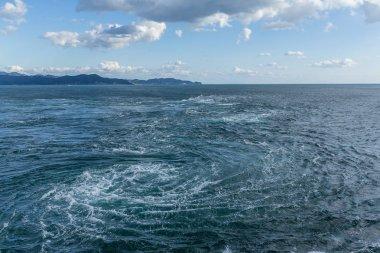 Naruto whirlpools in Tokushima