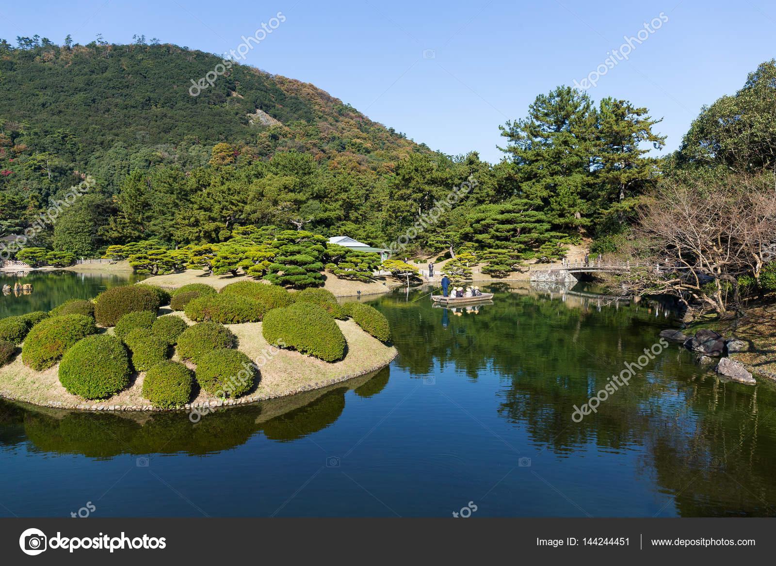 giardino giapponese di kokoen foto stock leungchopan