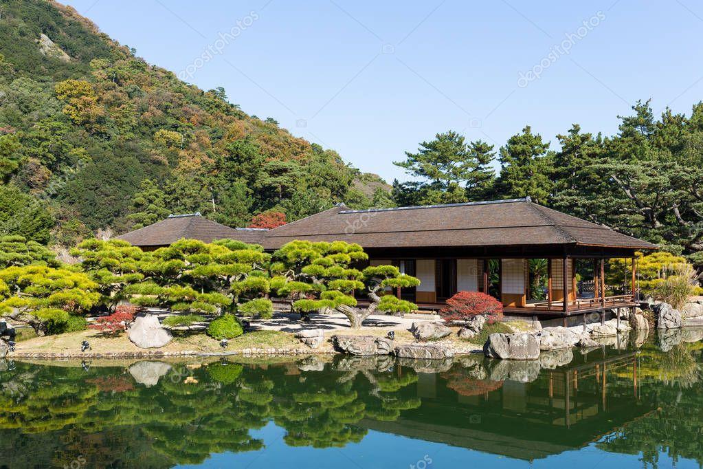 Kokoen Garden in Himeji