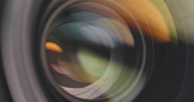 Professional camera lens zoom