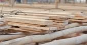 Fotografia Chiuda ledificazione impalcatura di bambù