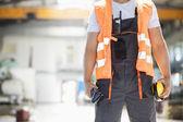 Photo Manual worker in metal industry