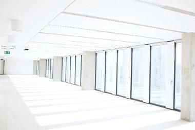 Interior of empty new office