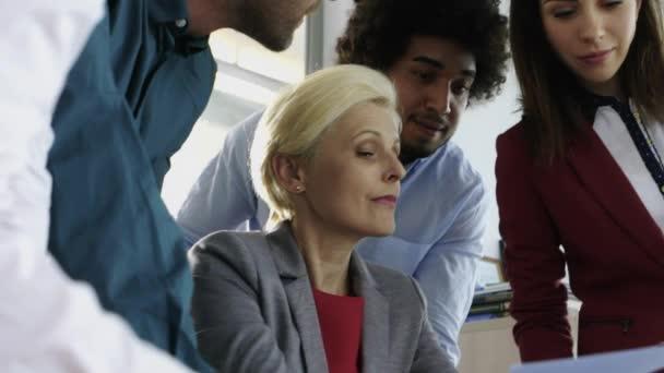 Vorstandssitzung mit Mitarbeitern