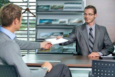 Car salesperson and businessman