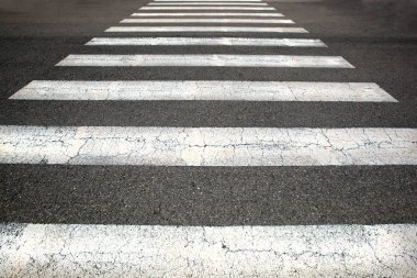 Close up view of  Pedestrian crossing