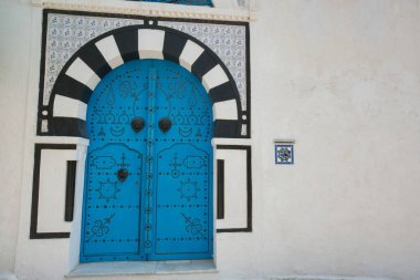 Typical local door of traditional house