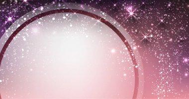 Festive shining lilac background. Vector illustration. stock vector