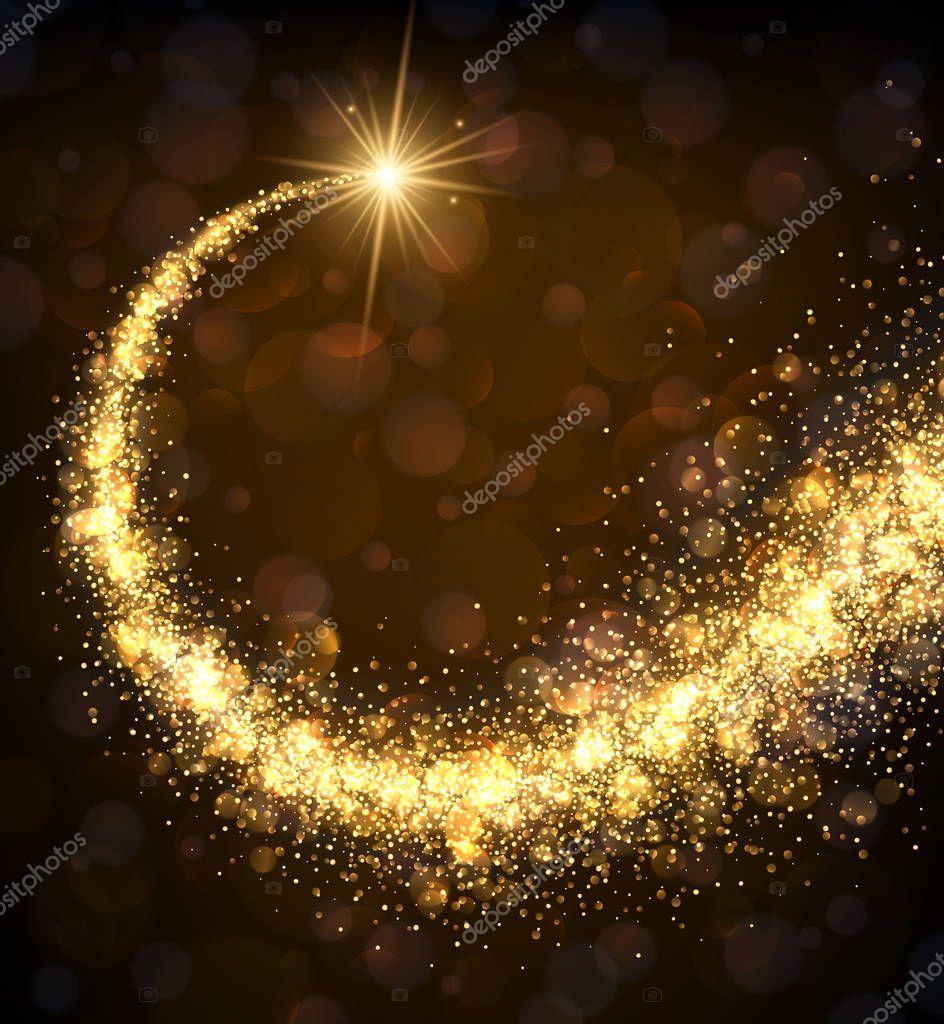 magic golden swirl