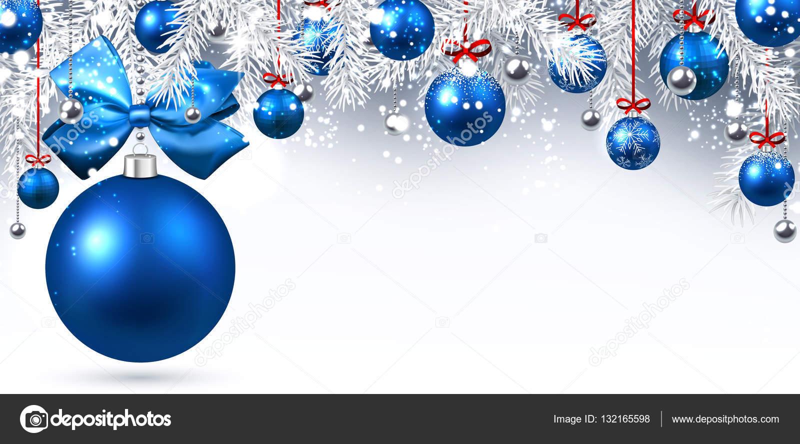 A o nuevo banner con bolas de navidad vector de stock for Bolas de navidad baratas