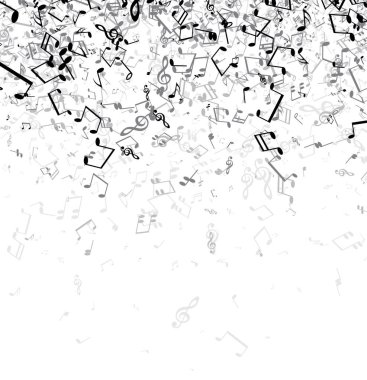 musical notes template
